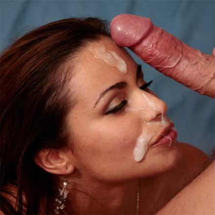 Latina gets facial