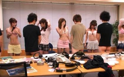 Reiko Nakamori's huge  Creampie