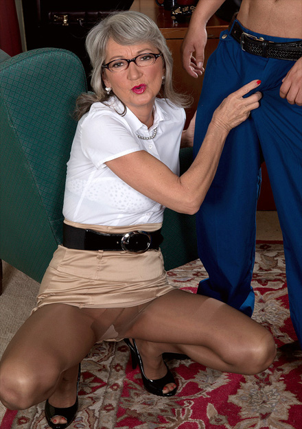 horny mature boss