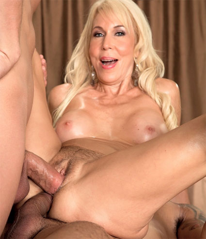 55 year old ranch milf flashes big tits 6