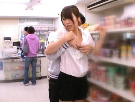 Asian public store porn #7