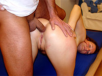Teen gets both her holes pounded