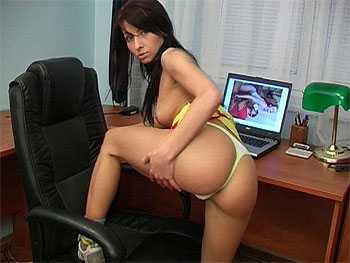 Hot Booty On Teenager