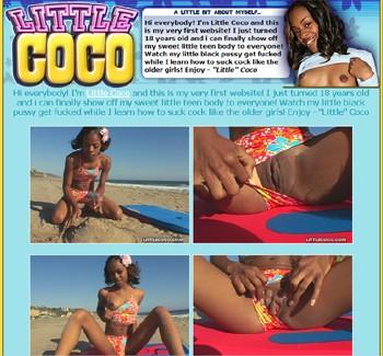 little coco solo black teen girl porn young black teen porn