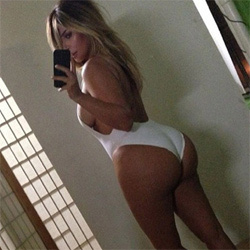 kim kardashian ass selfie