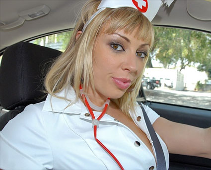 naughty nurse is a hot fucking milf