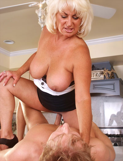 Milf Catches Son Friend
