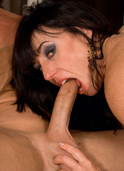 karen kougar sucks cock like crazy